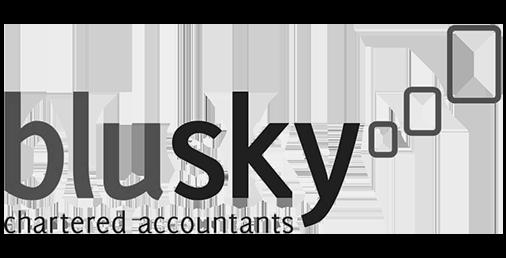 blusky logo